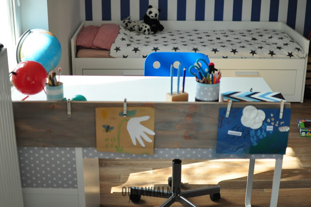 metamorfoza biurka Ikea