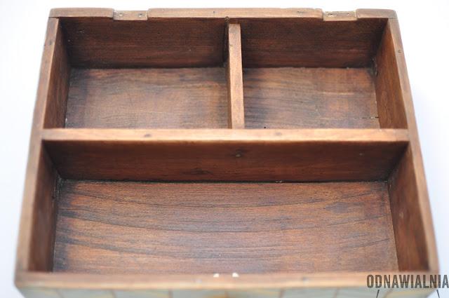 sposób na starą szufladę